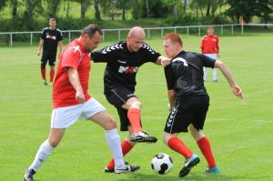 We scored draw with the Židovice football team